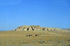 Jordanien Mellanösten, lantligt landskap royaltyfria bilder