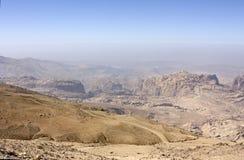 Jordanien-Wüste Lizenzfreie Stockfotos