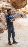 Jordanische Polizei Stockfotos