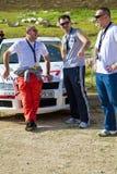 Jordanisches laufendes Team stockfotografie