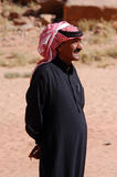 Jordansk man Arkivfoto