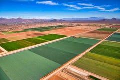 Jordbruk i den östliga dalen arkivfoton