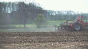 Jordbruk Ny odlingsmark stock video
