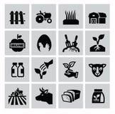Jordbruk och lantbruk Arkivfoton