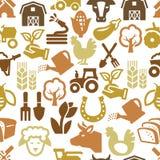 Jordbruk och lantbruk Arkivbild