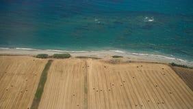 Jordbruk p? sydkusten n?ra Paphos fotografering för bildbyråer
