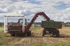 Jordbrukmaskiner Arkivfoton