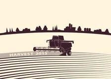 Jordbruks- bakgrund Royaltyfri Foto