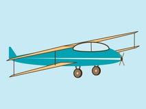 Jordbruks- flygplan för flygplanvinge Royaltyfri Fotografi