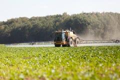 Jordbruks- kemisk sprejare Royaltyfri Bild