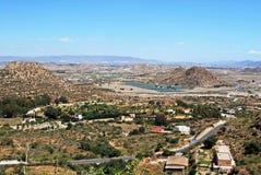 Jordbruks- landskap, Almeria royaltyfri bild