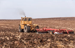 Jordbruks- maskineri Arkivbilder