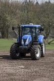 jordbruks- maskineri som planterar seederfjädern Arkivfoton