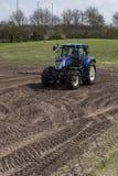 jordbruks- maskineri som planterar seederfjädern Fotografering för Bildbyråer