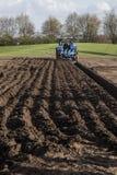 jordbruks- maskineri som planterar seederfjädern Royaltyfria Foton