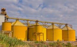 jordbruks- silos Royaltyfria Bilder