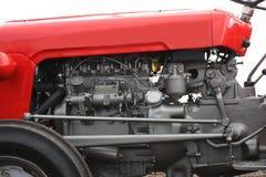 Jordbruks- traktor. Royaltyfria Foton