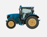 jordbruks- traktor Royaltyfri Foto