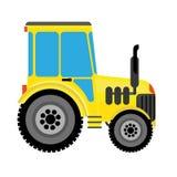 jordbruks- traktor Royaltyfria Bilder