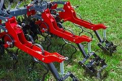 Jordbruks- utrustning. Detalj 165 Arkivfoto