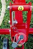 Jordbruks- utrustning. Detalj 142 Arkivbild