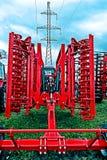jordbruks- utrustning Detalj 172 Arkivfoto