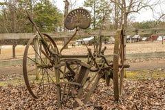 Jordbruks- verktyg för tappning Royaltyfri Foto