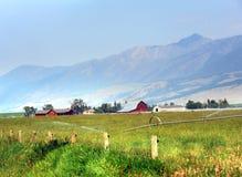 Jordbruksmark i den lyckliga dalen Arkivbilder