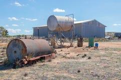 Jordbruksmark i västra Australien Royaltyfri Fotografi