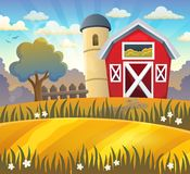 Jordbruksmarktemabakgrund 2 Royaltyfria Bilder