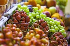 Jordbruksprodukter för ny marknad Royaltyfri Bild