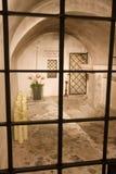 Jordfästningkammare av en bishop, en saint Royaltyfri Fotografi