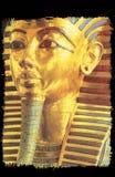Jordfästningmaskering av den egyptiska farao Tutankhamun Fotografering för Bildbyråer
