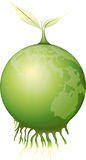 jordgreen stock illustrationer