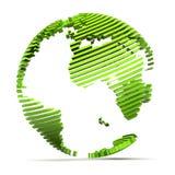 jordgreen royaltyfri illustrationer