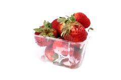jordgubbar för 1 ask Arkivfoton