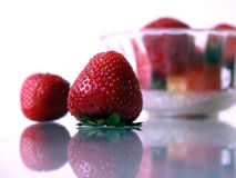 jordgubbar iii arkivfoton