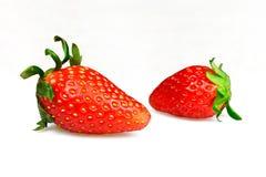 jordgubbar två Royaltyfri Foto