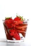 jordgubbe för 7 serie Arkivfoton