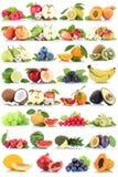 Jordgubbe för banan för äpplen för äpple för fruktfruktsamling orange mig arkivfoton