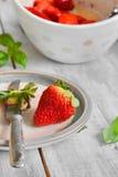 Jordgubbe - jordgubbar Royaltyfri Fotografi