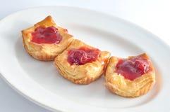 jordgubbe tre för 2 pies Arkivfoton