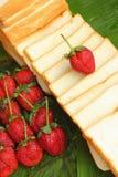 Jordgubbefruktbär Arkivfoto