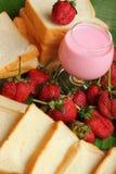 Jordgubbefruktbär Royaltyfria Bilder