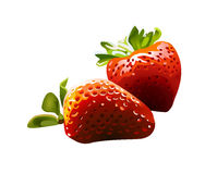 jordgubbevektor Arkivbild
