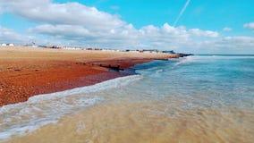 Jordhimmel och havet Fotografering för Bildbyråer