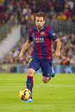 Jordi alba del FC Barcelona Fotografia Stock