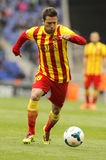 Jordi Alba FC Barcelona Стоковые Фотографии RF