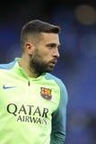 Jordi Alba FC Barcelona Стоковая Фотография