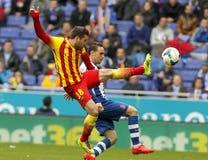 Jordi Alba of FC Barcelona Royalty Free Stock Photos